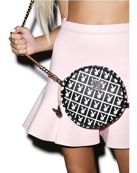 X Playboy Panel Pochette Crossbody Bag