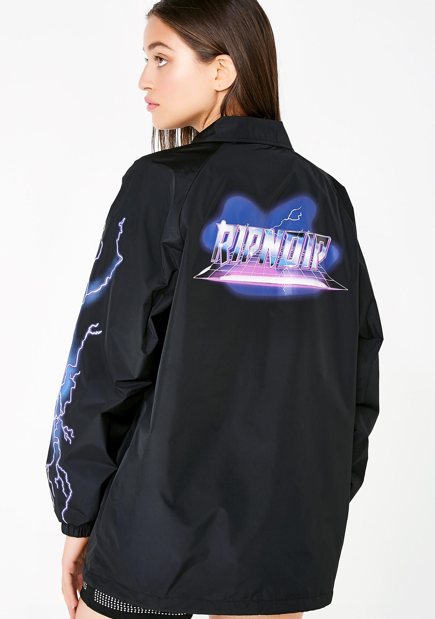 RIPNDIP Rave Nylon Coaches Jacket