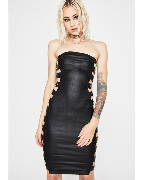 Midnight War Zone Mini Dress