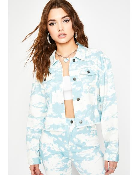 Caught Daydreaming Denim Jacket