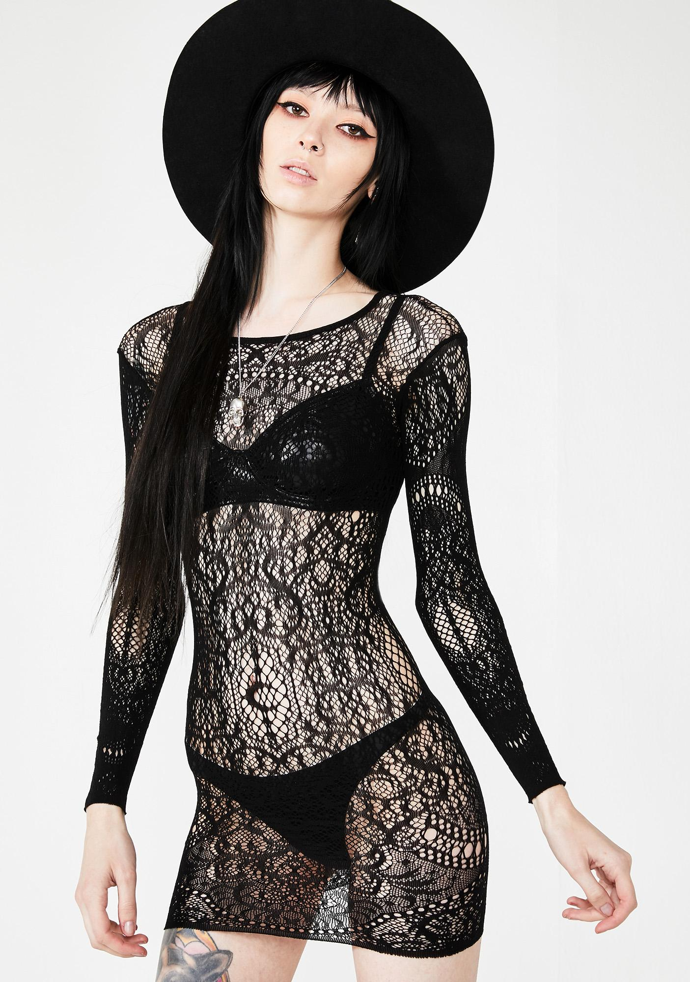 bbce2176b6d1 Killstar Ceres Chaos Lace Bodycon Dress