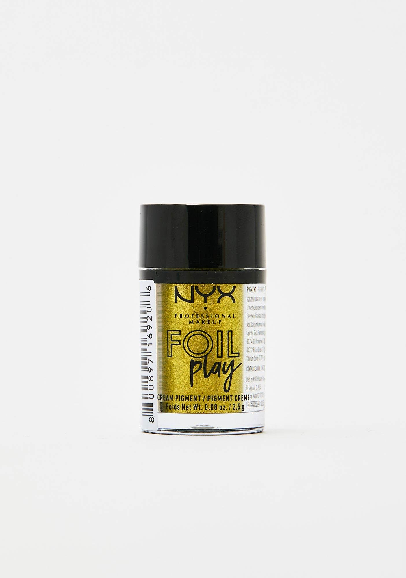 NYX Professional Makeup Happy Hippie Foil Play Cream Pigment