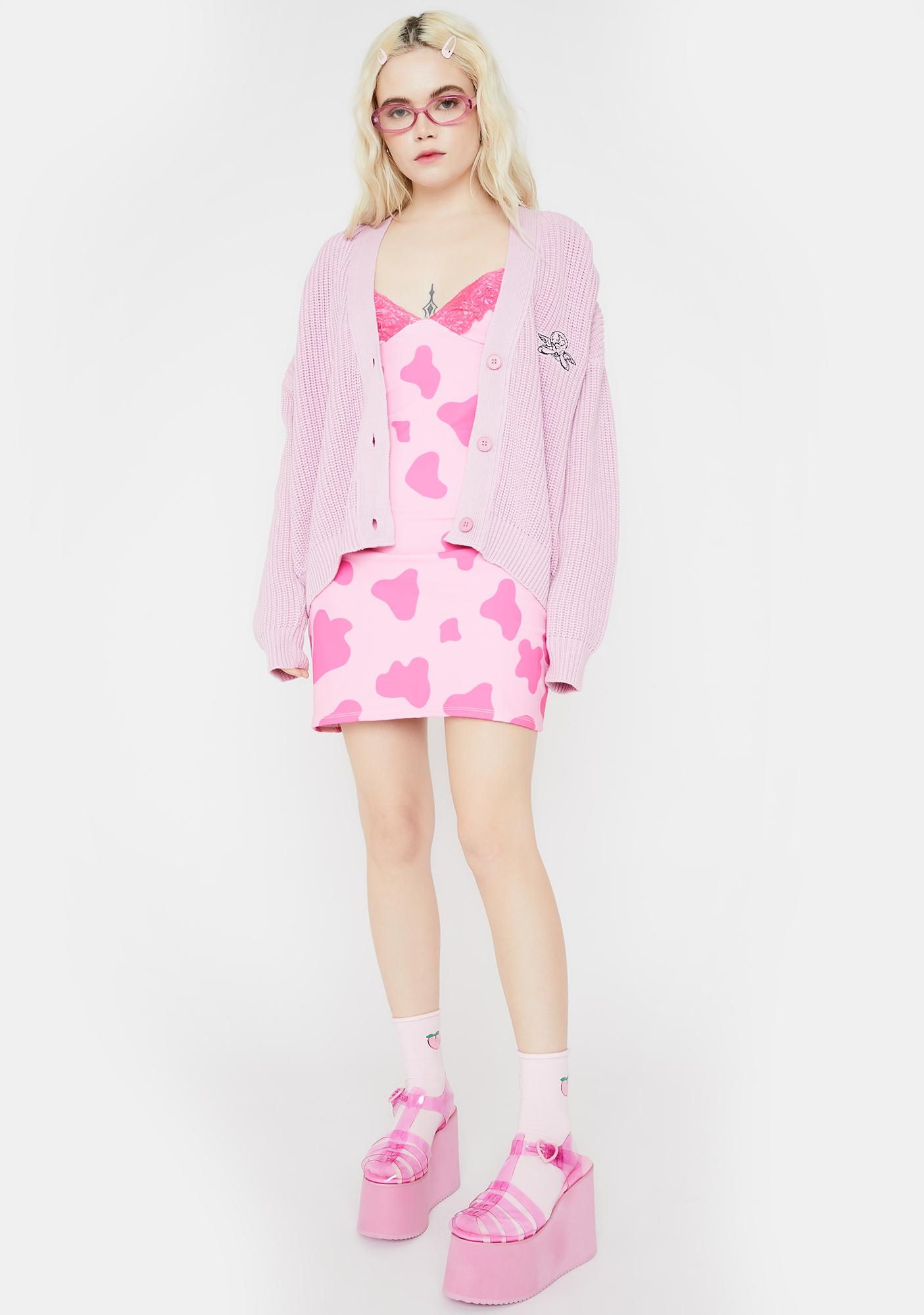 O Mighty Moo Moo Cami Print Dress