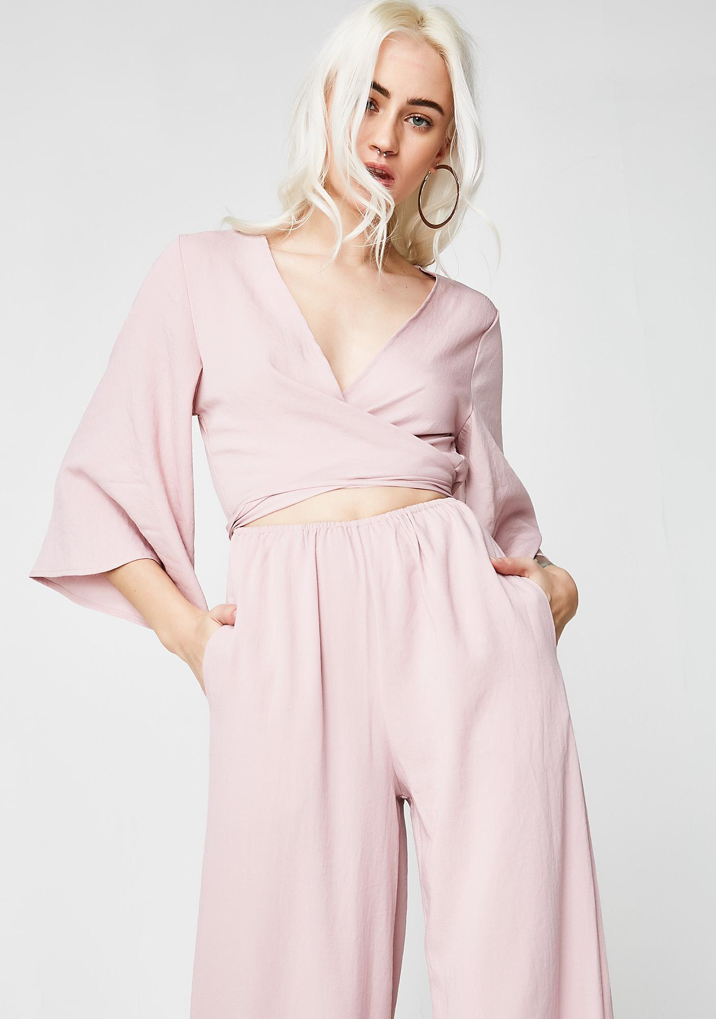 Daydreamer Wrap Jumpsuit