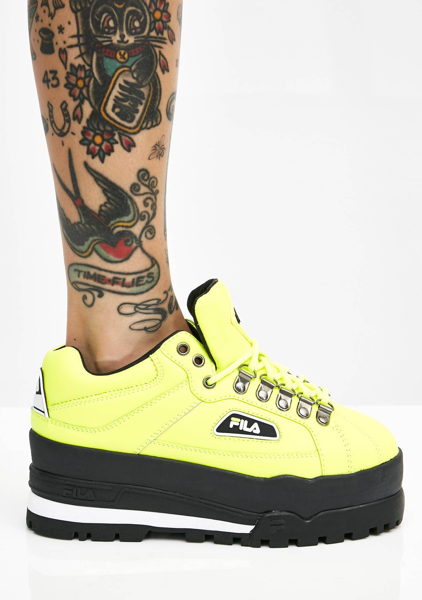Fila Biohazard Trailblazer Wedge Sneakers