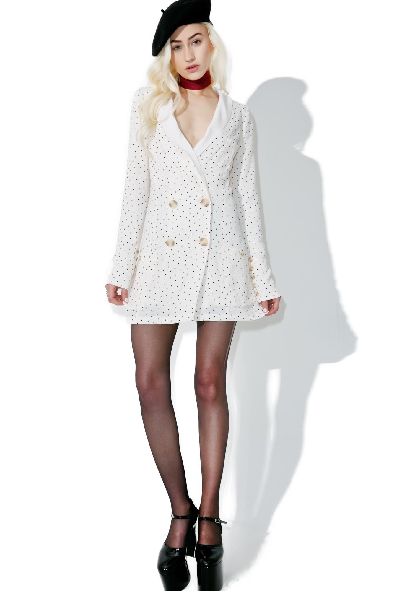 For Love & Lemons Bianca Blazer Dress