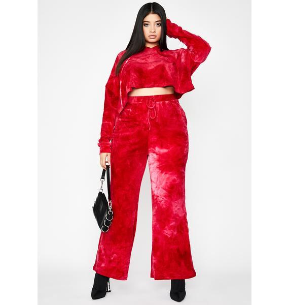 Legit Velvet Heaux Tie Dye Sweatpants