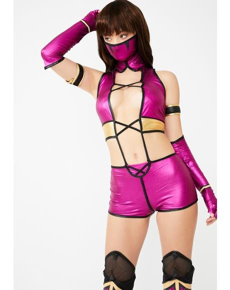 Leaping Neckbite Costume Set