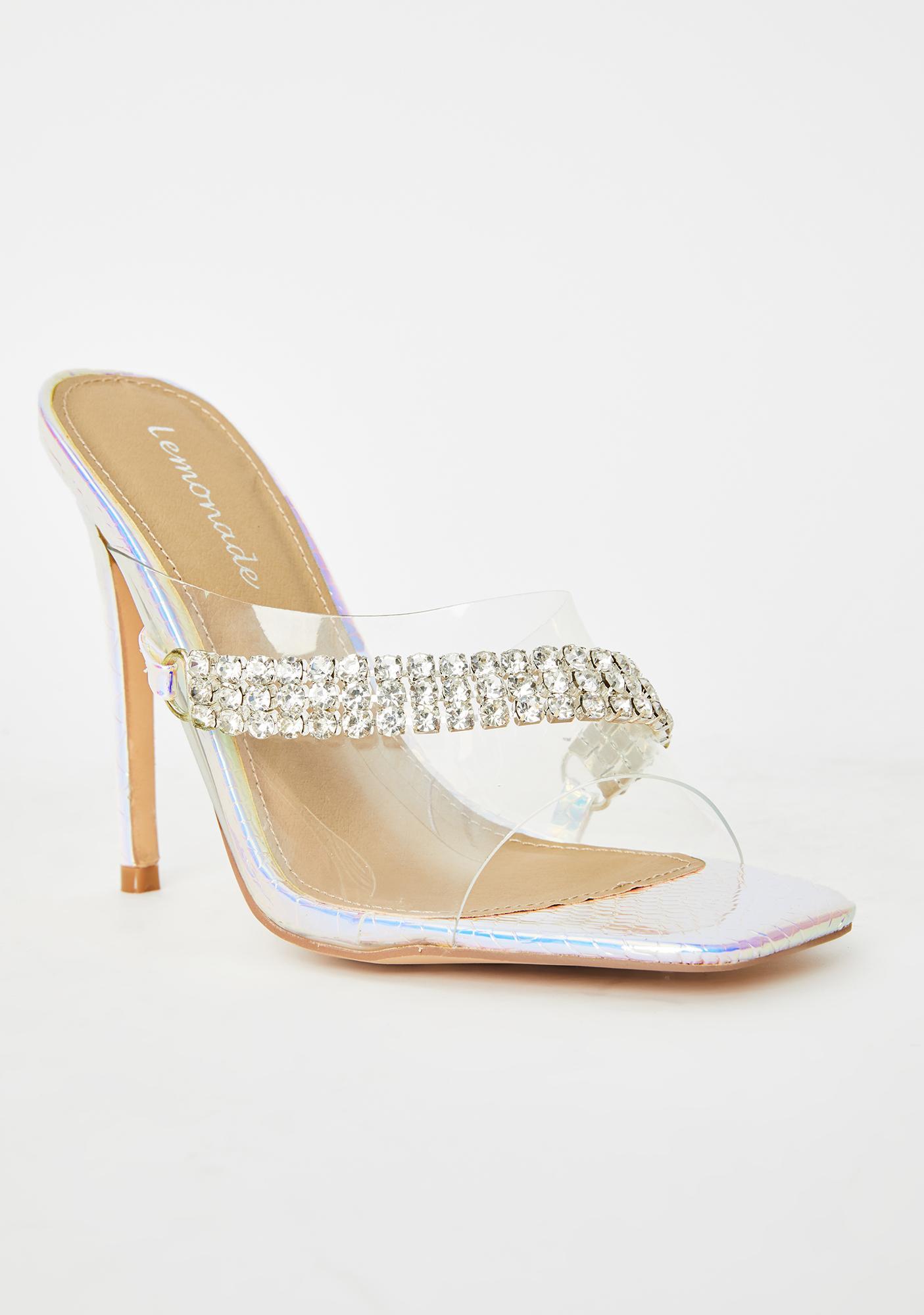 Fairy Dance Rhinestone Heels