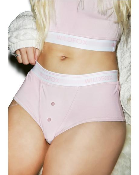 Pout Pink Tomboy Brief