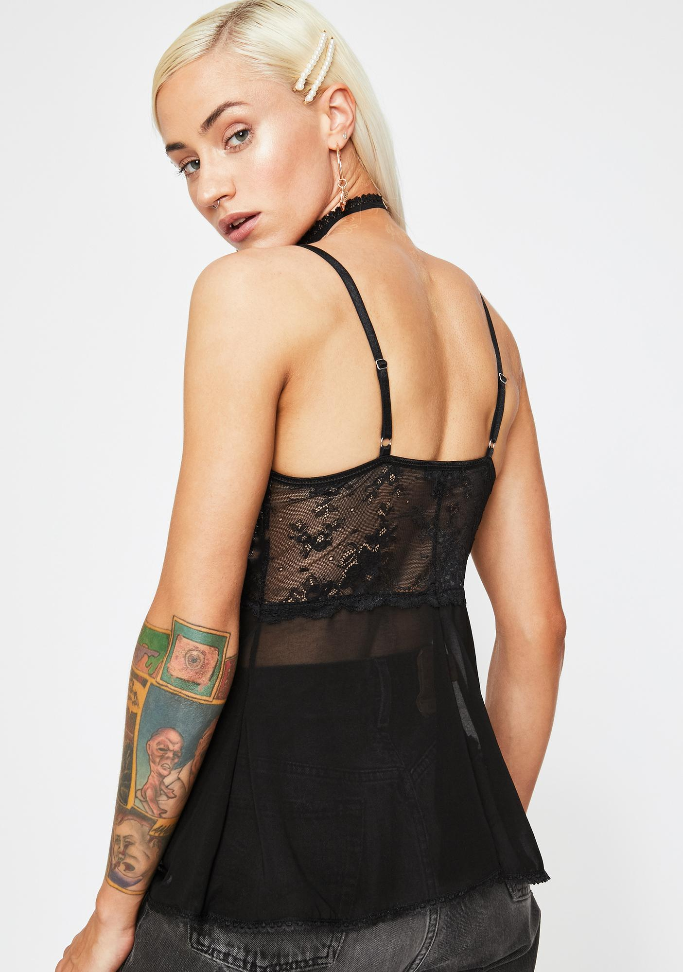 Current Mood Dream Snatcher Sheer Cami