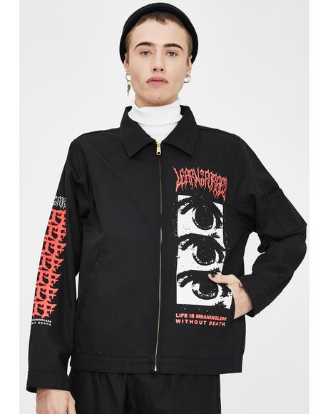 Red Death Graphic Jacket