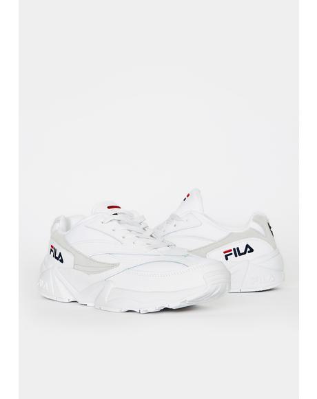 Unisex White V94M Sneakers