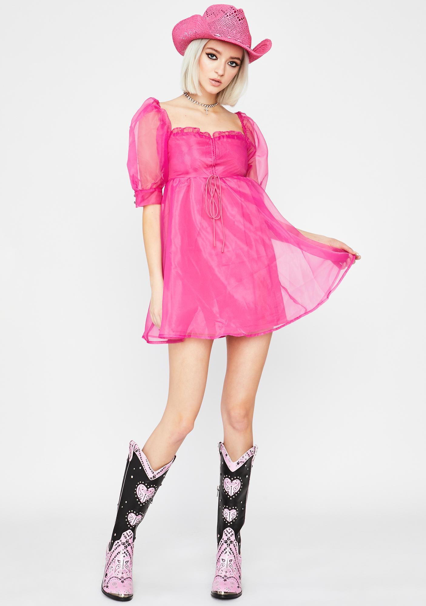 Diva Coming In Clutch Mini Dress