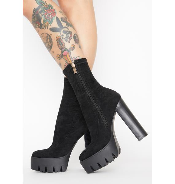 AZALEA WANG Selfish Desires Platform Boots