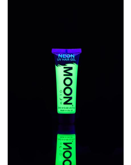 Neon Intense Green UV Hair Gel
