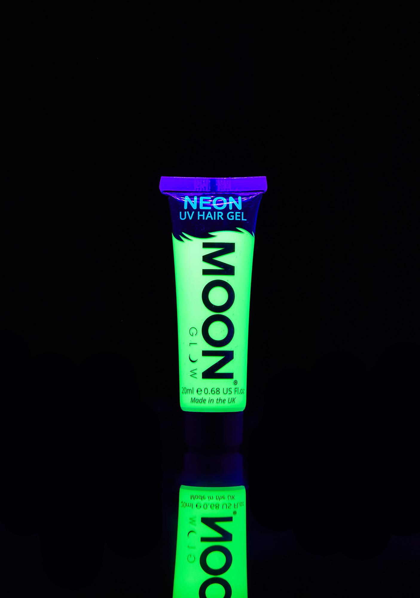 Moon Creations Neon Intense Green UV Hair Gel
