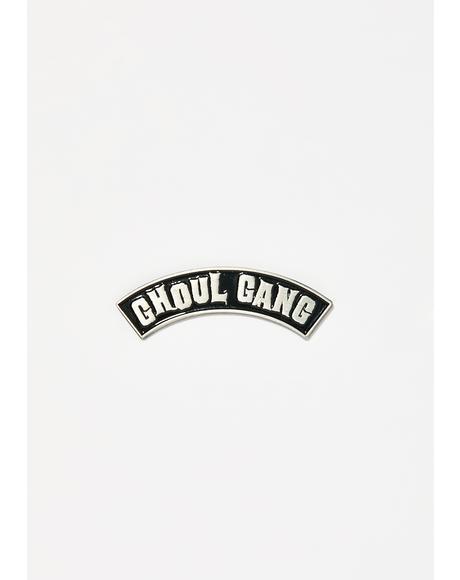 Ghoul Gang Enamel Pin
