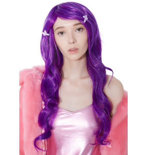 Rockstar Wigs Plum Farrah Wig