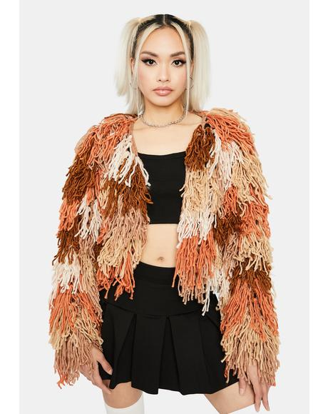 Like A Firebird Fringe Jacket