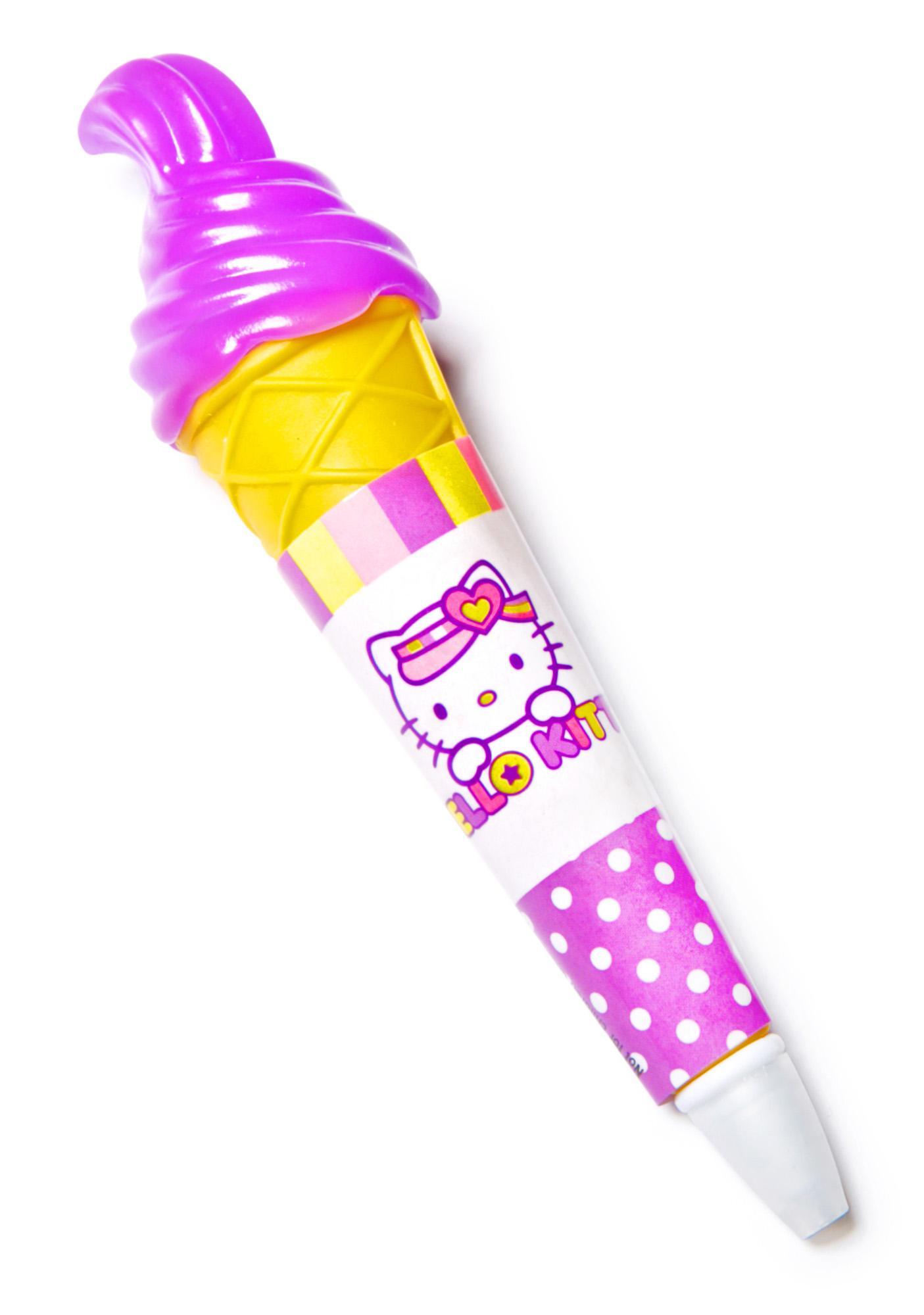 Sanrio Light-Up Ice Cream Pen