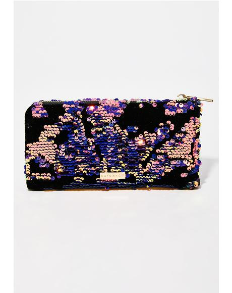 Sequin Luxe Wallet
