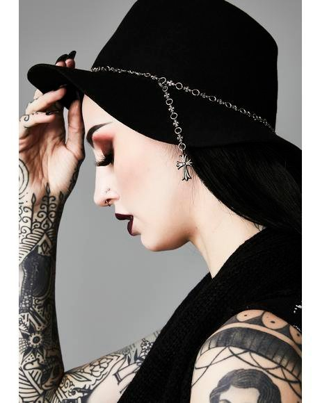 Unholy Divinity Rosary Hat