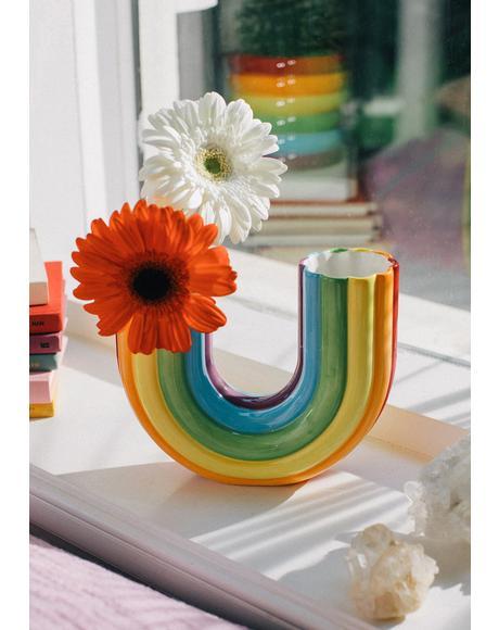 Better Days Rainbow Vase