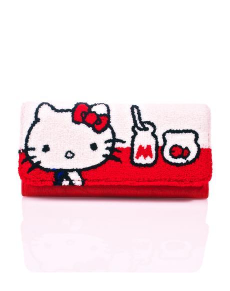 Hello Kitty Milk Wallet