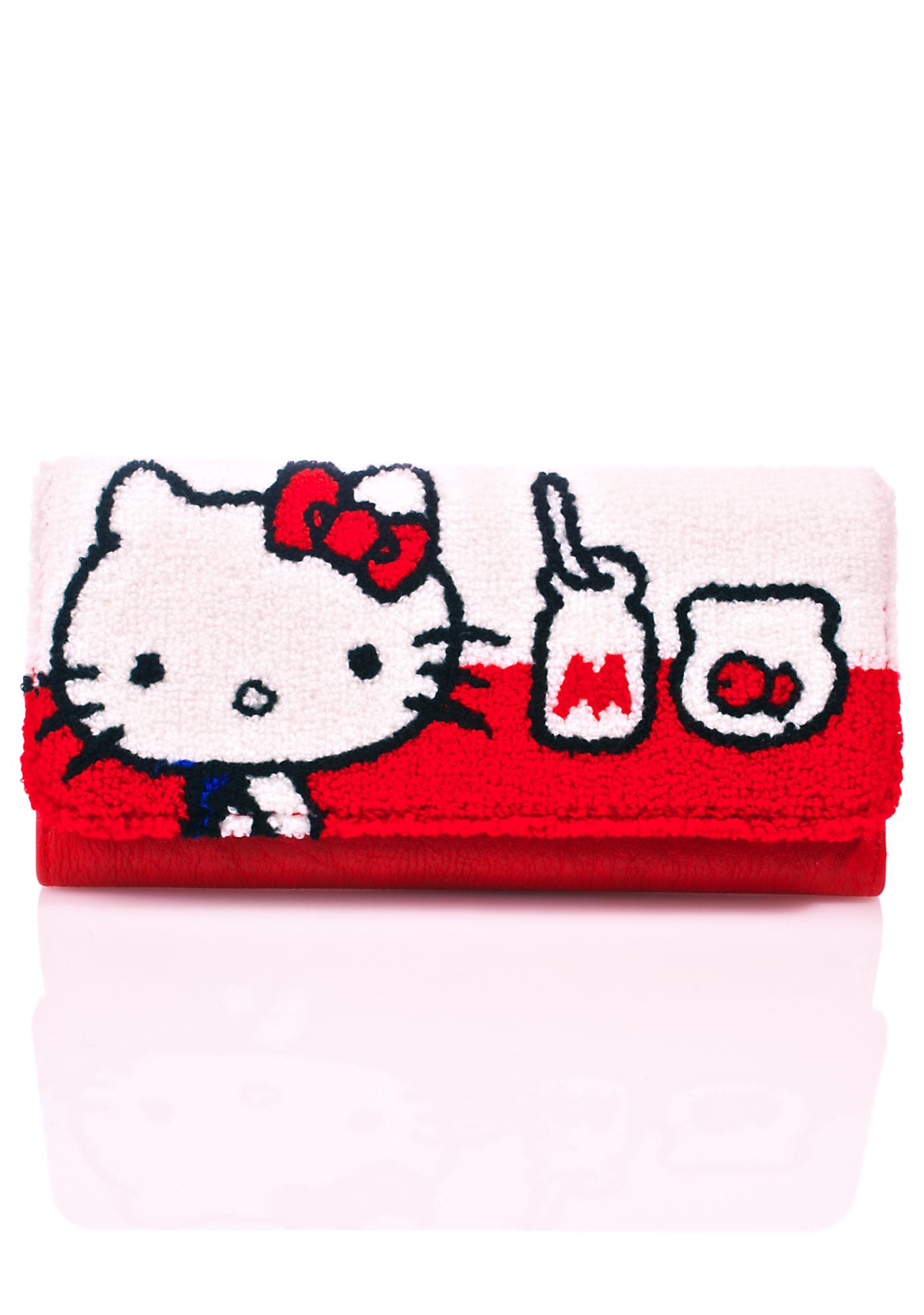 Loungefly Hello Kitty Milk Wallet