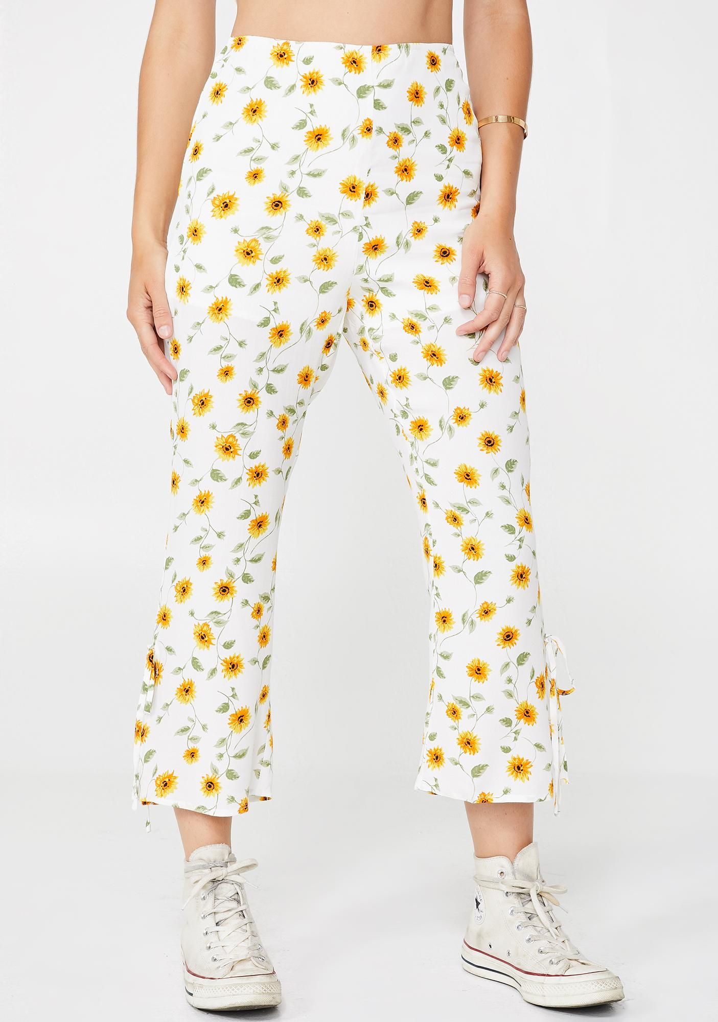 Sunflower Bae Capri Pants