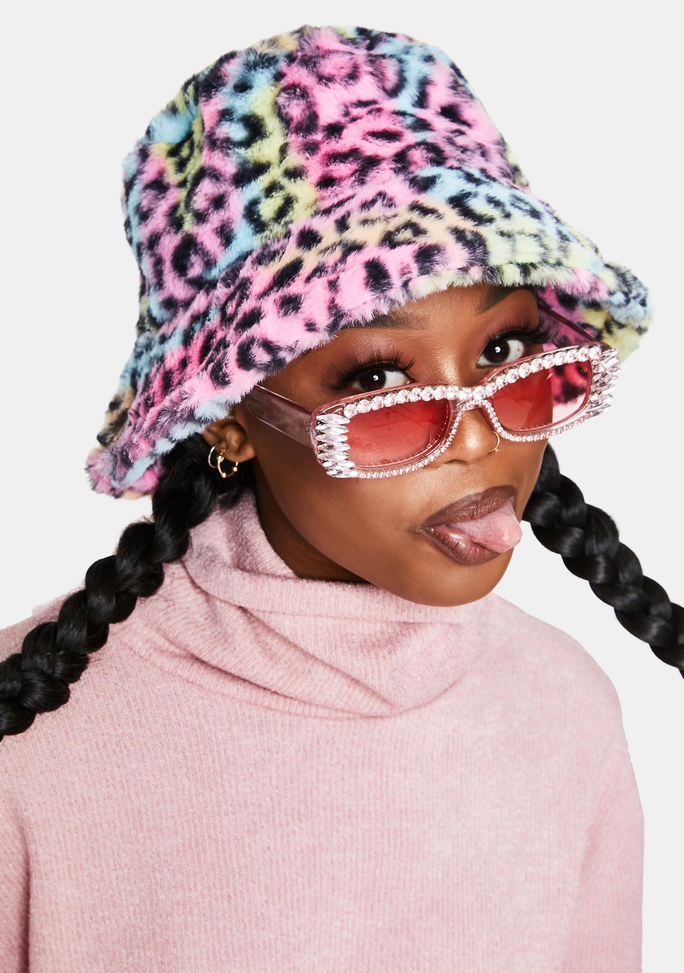 Candy Fast Check Out Studded Sunglasses