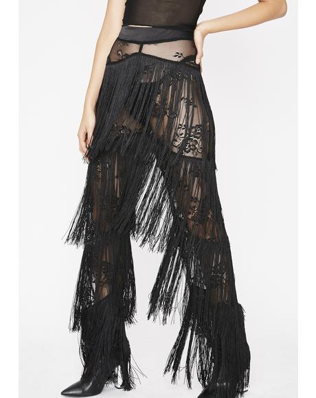 Shake It Off Fringe Pants