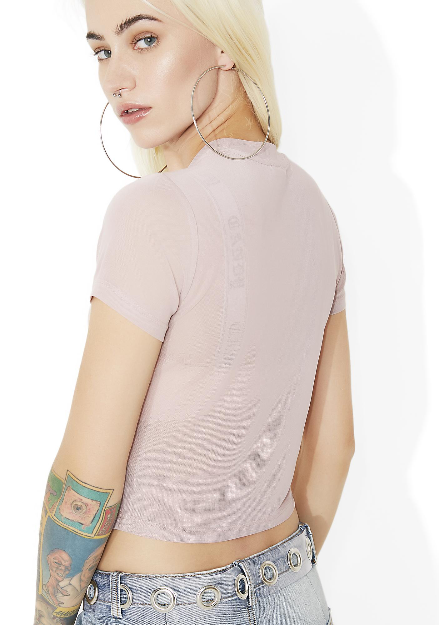 Left Bank Sheer Baby Tee