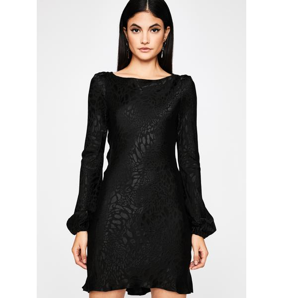 Hush Now Long Sleeve Dress