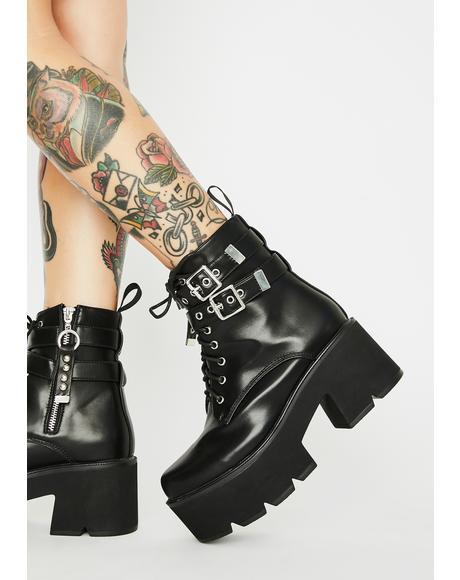 Goin' Rogue Platform Boots