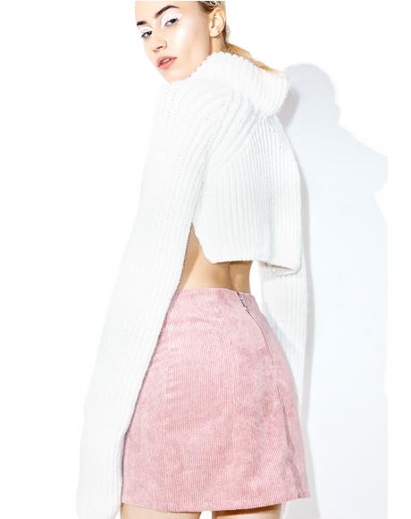 Symphonic Mini Skirt