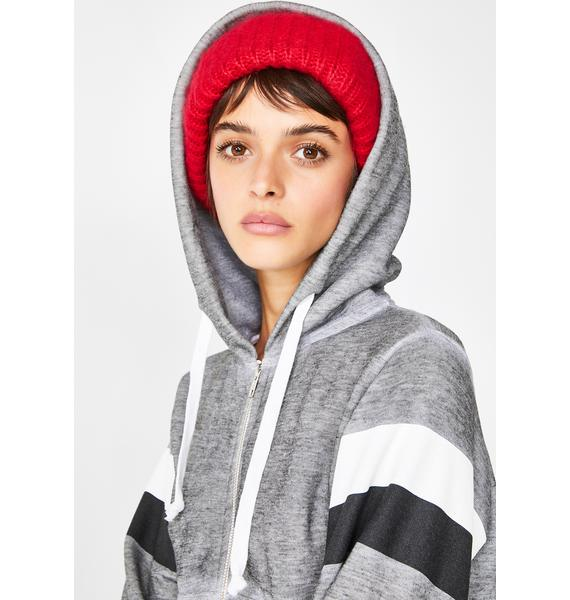 Wildfox Couture Rain Or Shine Zip Up Hoodie