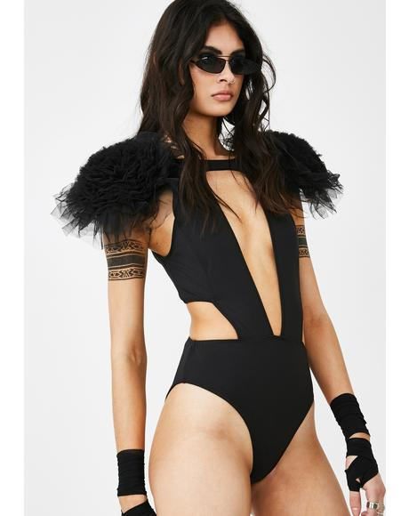 Daredevil Diva Cut Out Bodysuit