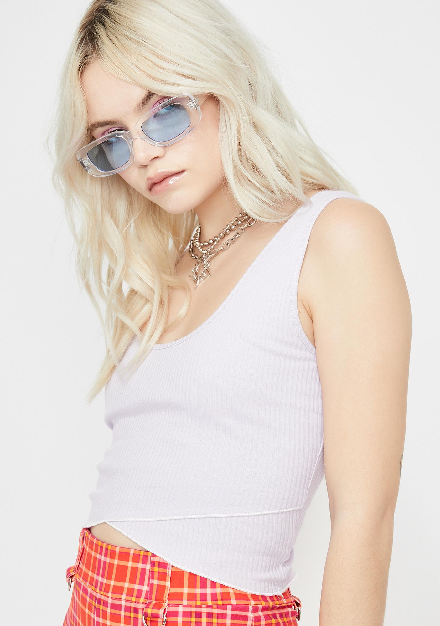 Fazed Out Crop Top