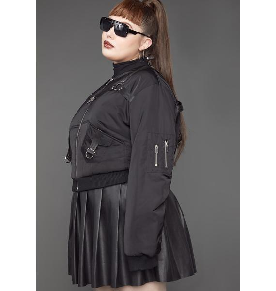 Poster Grl Lil Baddie Undercover Bomber Jacket