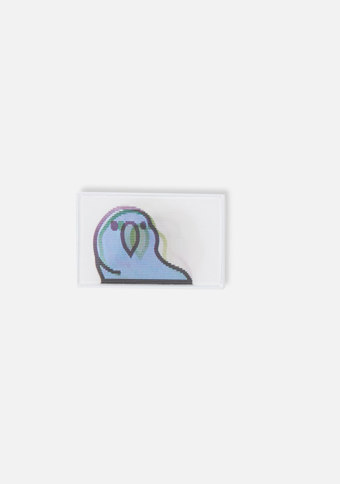 Studio Cult Party Parrot Lenticular Pin