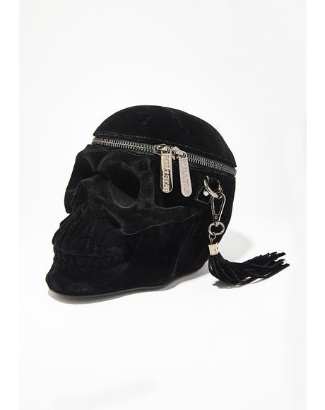 Velvet Grave Digger Handbag