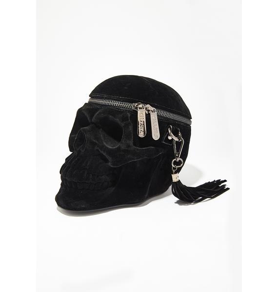 Killstar Velvet Grave Digger Handbag
