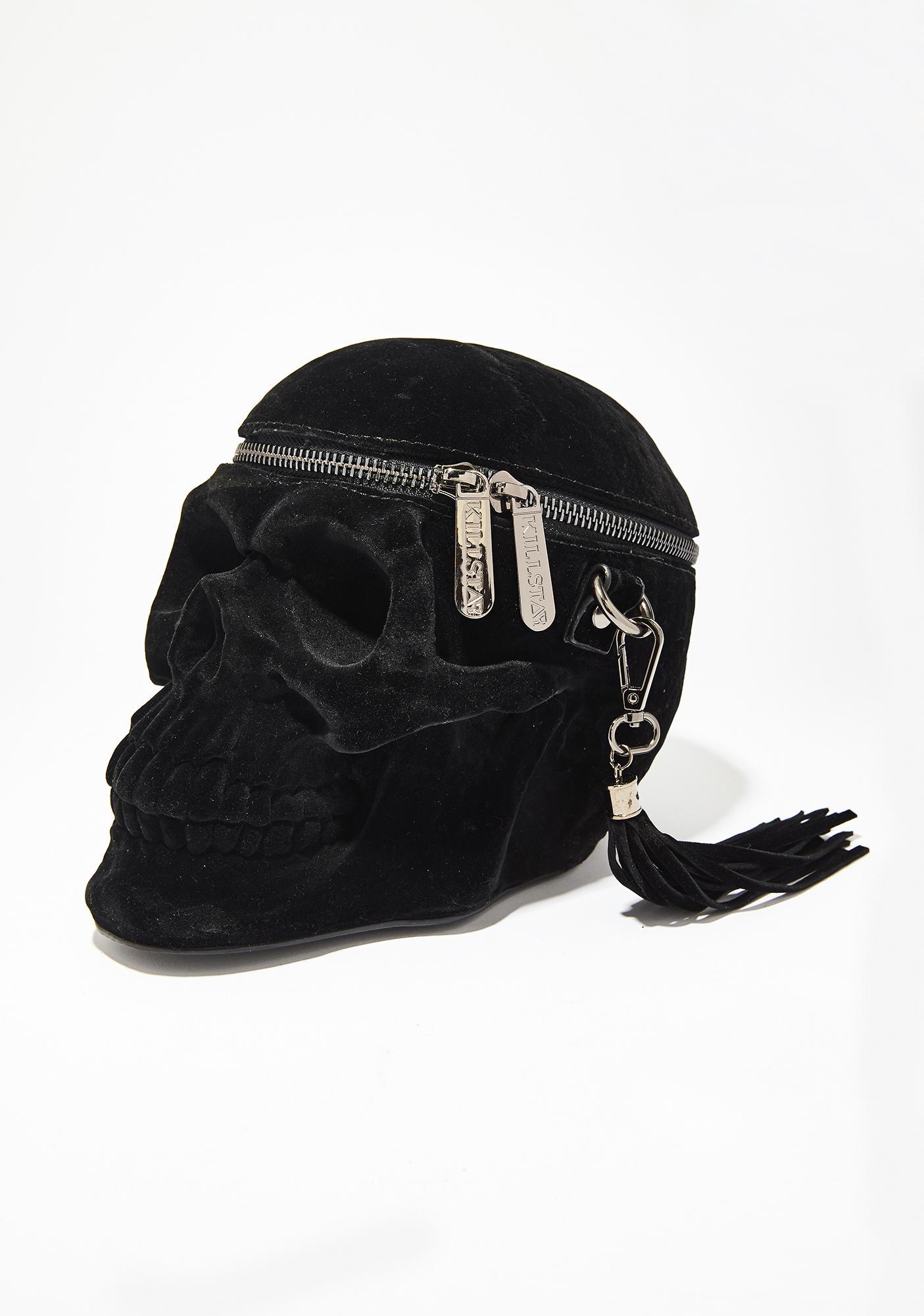 65c66fe1b1f9 Killstar Velvet Grave Digger Handbag