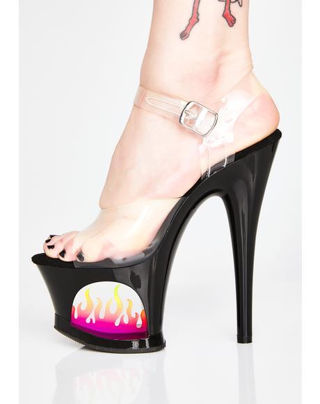 Dark Sensations Platform Heels