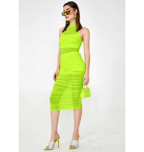 Empire Shade Maxi Dress