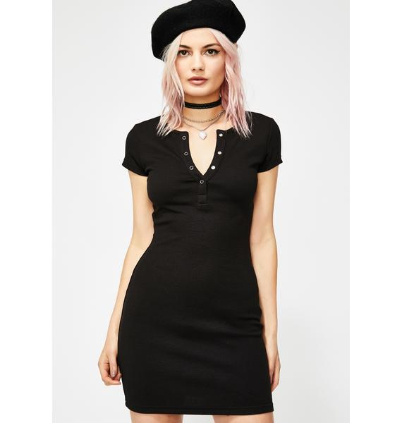 Don't Bother Me Henley Dress