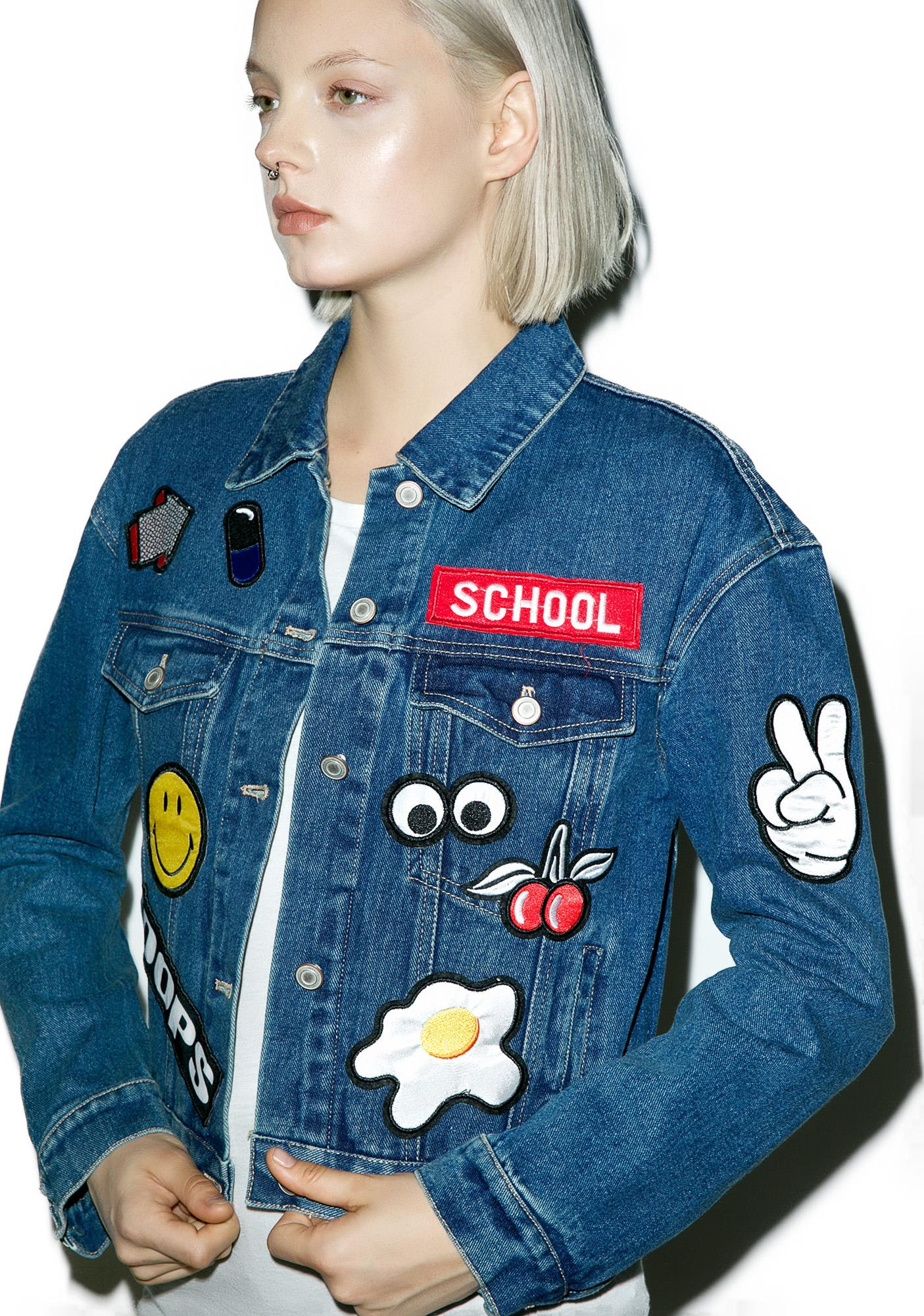 Slappin' Patches Denim Jacket