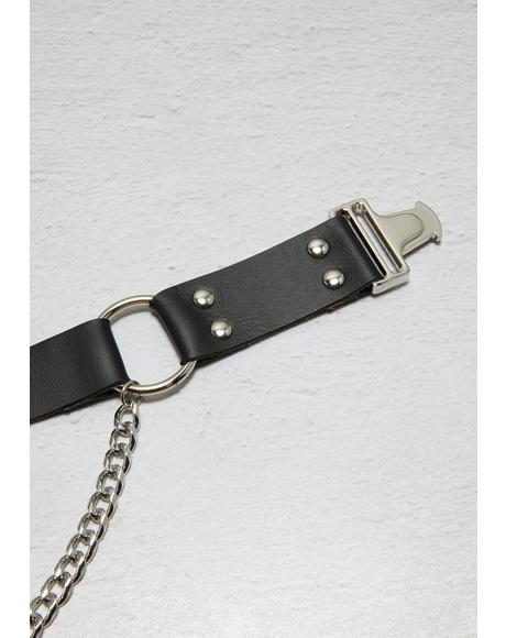 Seeking A Freak Buckle Choker